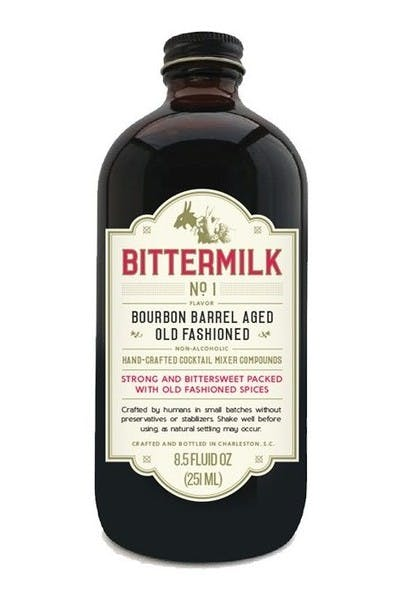 Bittermilk #1 Bourbon Barrel Aged Old Fashioned