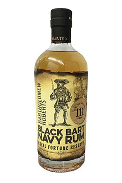 Black Bart Navy Rum