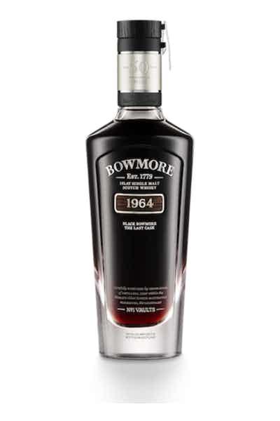Black Bowmore Scotch 50 Year Old