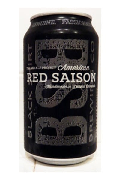 Black Shirt Brewing Red Saison