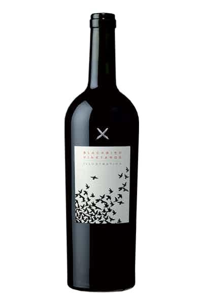 Blackbird Vineyards Illustration