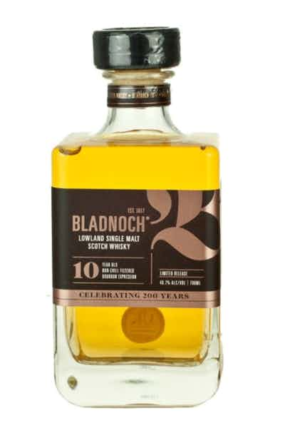 Bladnoch Lowland Single Malt Scotch 10 Year