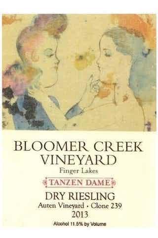Bloomer Creek Dry Riesling Auten Vineyard