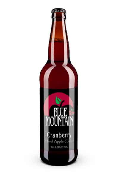 Blue Mountain Cranberry Hard Apple Cider