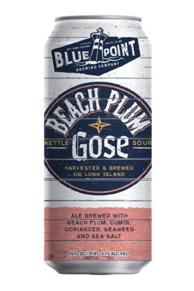 Blue Point Beach Plum Gose