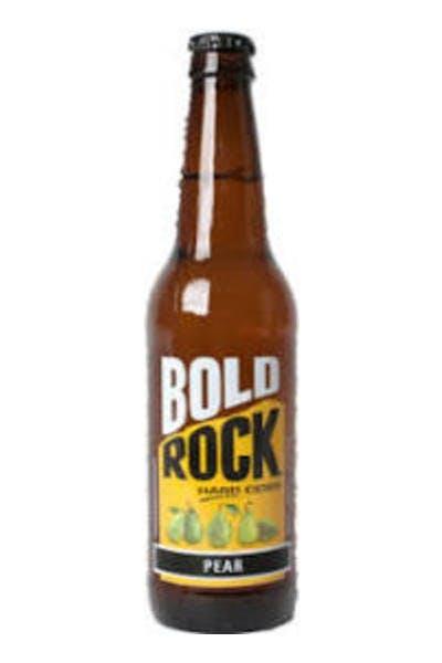 Bold Rock Pear Cider