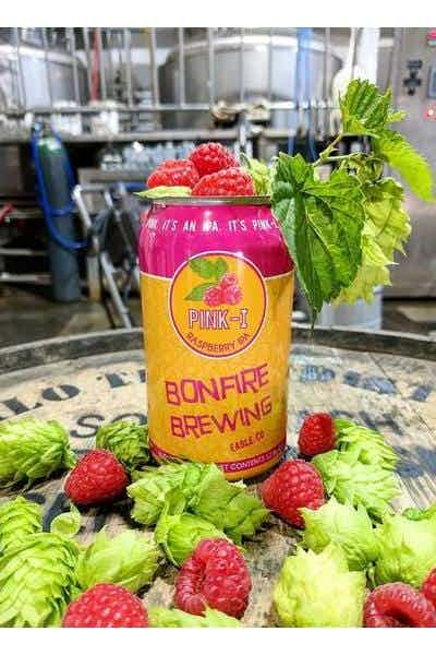 Bonfire Brewing Pink-I Raspberry IPA