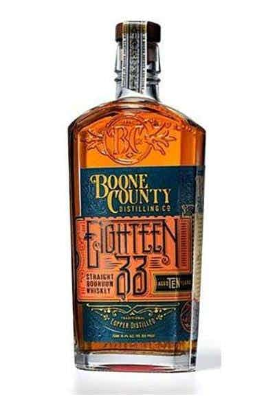 Boone County Eighteen 33 12 Year Bourbon