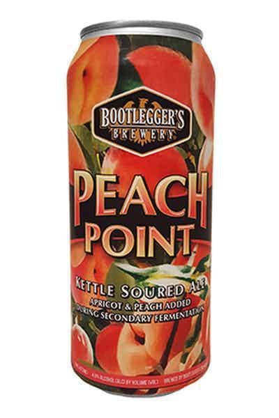 Bootleggers Peach Point Sour Ale