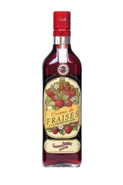 Boudier Creme De Fraises Strawberry Liqueur