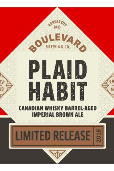 Boulevard Plaid Habit Imperial Brown Ale