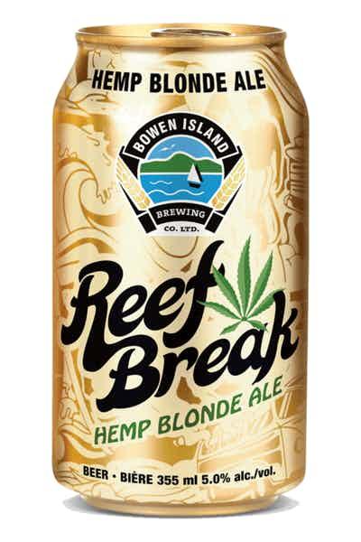 Bowen Island Reef Break Hemp Blonde Ale