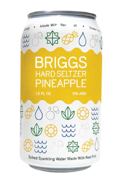 Briggs Hard Seltzer Pineapple
