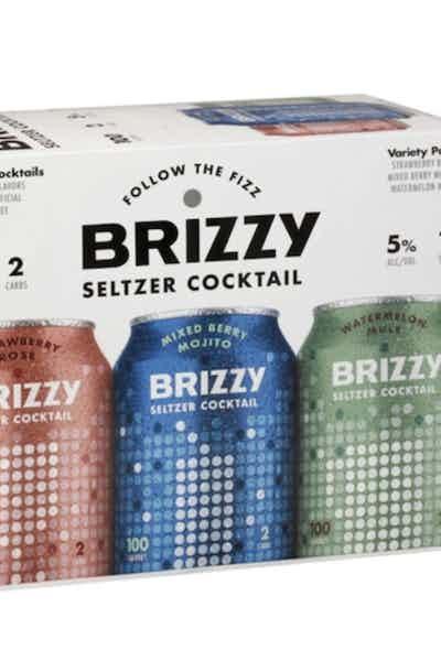 Brizzy Hard Seltzer Variety Pack