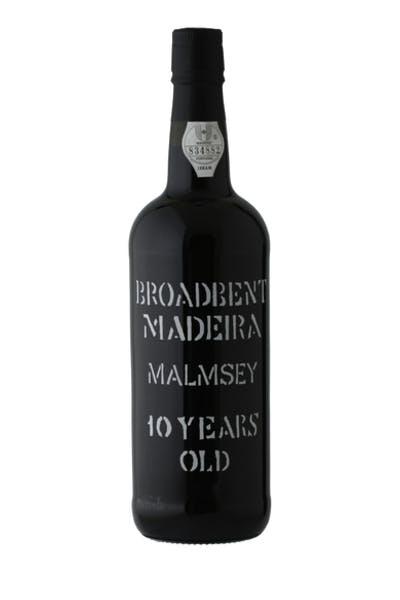 Broadbent 10 Year Malmsey Madeira