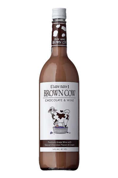 Brown Cow Chocolate Wine