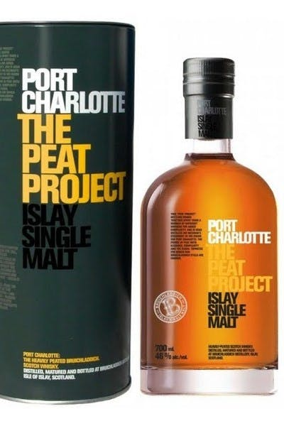 Bruichladdich Port Charlotte Scotch Single Malt The Peat Project