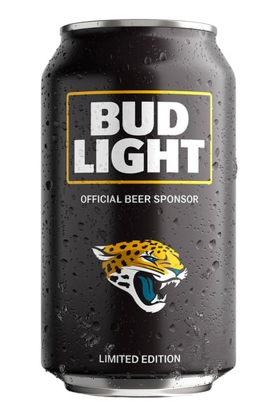 Bud Light Jacksonville Jaguars NFL Team Can