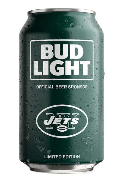 Bud Light NY Jets NFL Team Can