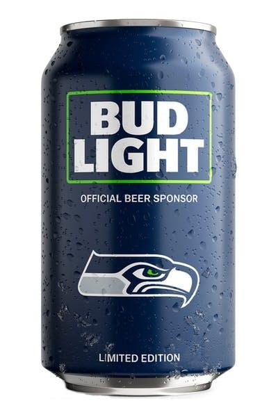 Bud Light Seattle Seahawks NFL Team Can