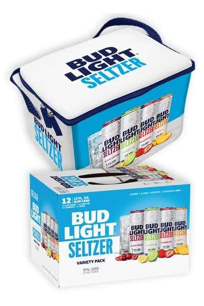 Bud Light Seltzer Variety 12-Pack Can with Cooler Bag