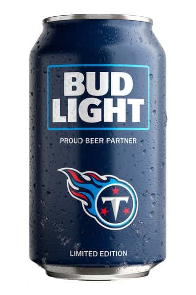 Bud Light Tennessee Titans NFL Team Can