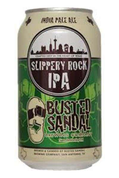 Busted Sandal Slippery Rock IPA
