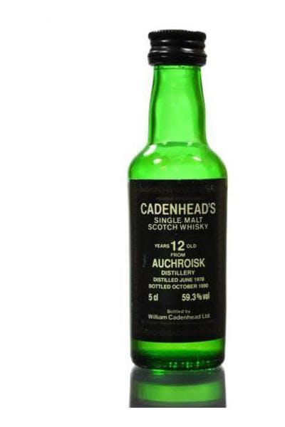 Cadenhead Auchroisk 12 Year
