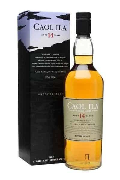 Caol Ila 14 Year Unpeated