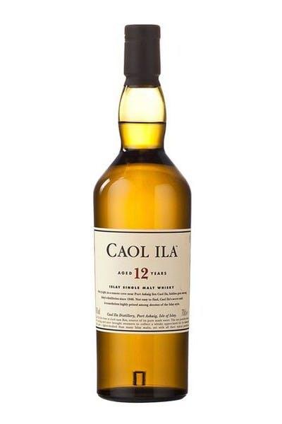 Caol Ila 12 Year Single Malt Scotch
