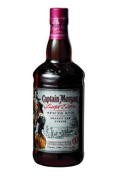 Captain Morgan Sherry Oak Finish Spiced Rum