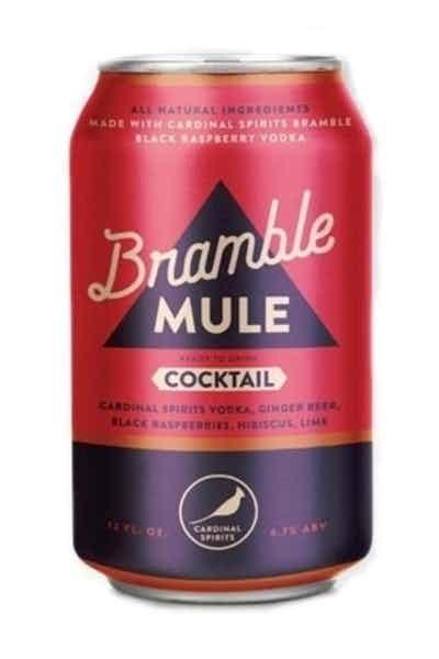 Cardinal Spirits Bramble Mule Cocktail