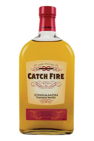 Catch Fire Cinnamon Whisky