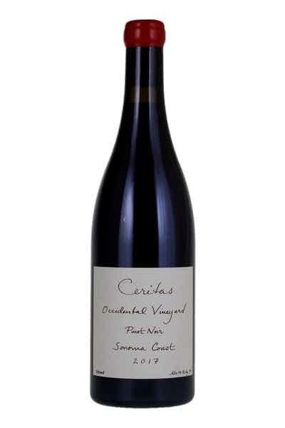 Ceritas Wines Occidental Vineyard Pinot Noir Sonoma Coast