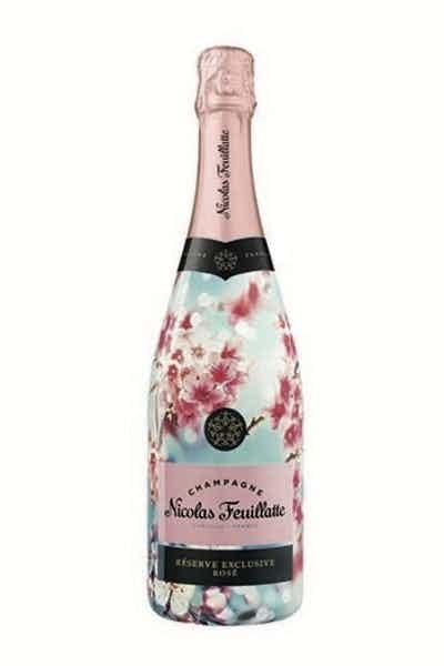 "Champagne Nicolas Feuillatte Rose Reserve Exclusive ""Sakura Sleeve"""