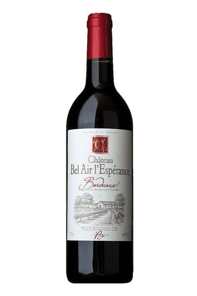 Chateau Bel Air L'esperance Bordeaux
