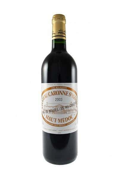 Chateau Caronne Ste. Gemme Haut Medoc Bordeaux Wine
