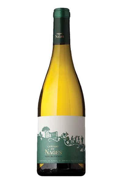 Chateau De Nages Costieres De Nimes Blanc Vieilles Vignes