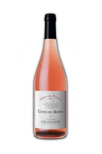 Chateau Gigognan Cotes Du Rhone Vigne du Prieuré Rosé