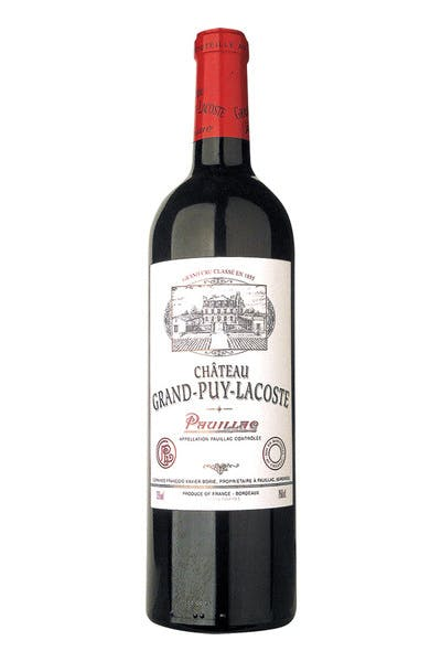Chateau Grand Puy Lacoste Pauillac 2010