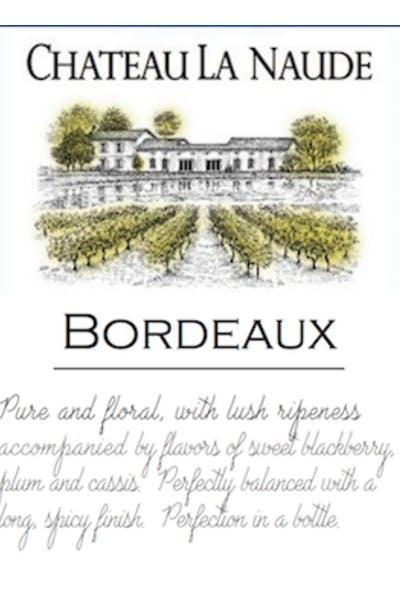 Chateau La Naude Bordeaux Rouge
