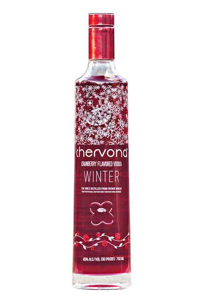 CHERVONA WINTER Cranberry Infused Vodka