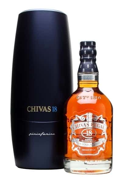 Chivas Regal 18 Year W/ Glass