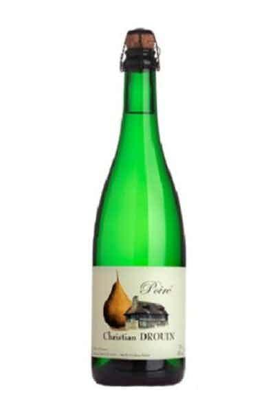Christian Drouin Poire Pear Cider