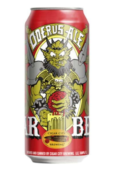 Cigar City Brewing GWAR Beer Oderus Ale