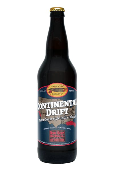 Cigar City Brewing/Knee Deep Continental Drift IPA