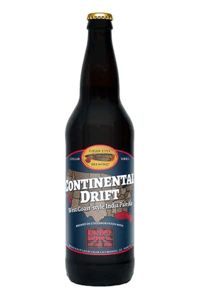 Cigar City Brewing/Knee Deep Continental Drift IPA
