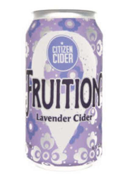 Citizen Cider Fruition Lavender Cider