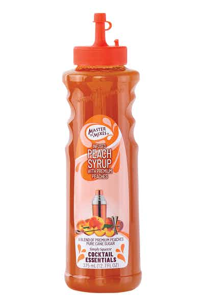 Cocktail Essential Peach Syrup