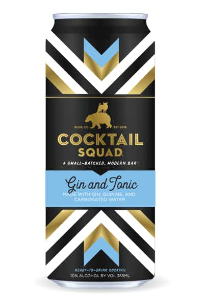 Cocktail Squad Gin & Tonic